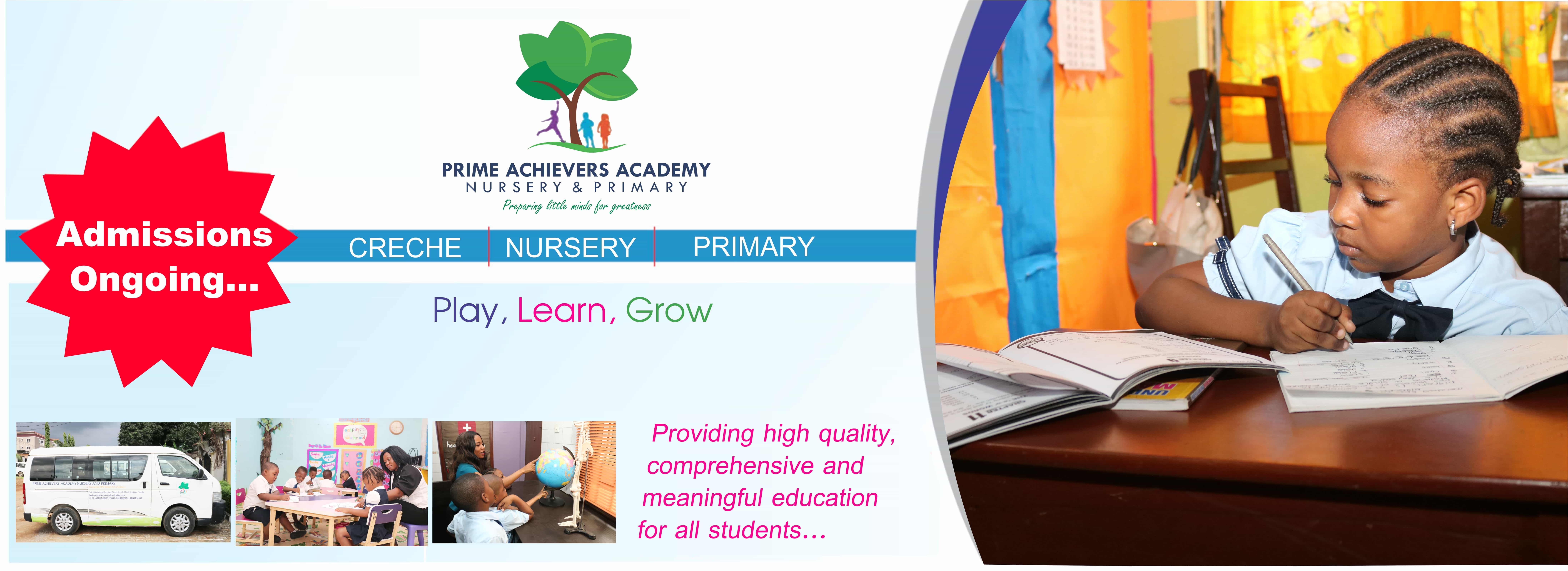 Admission Ongoing